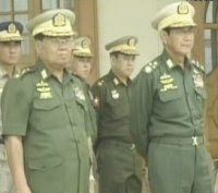 Burma's leader #1 and leader #2