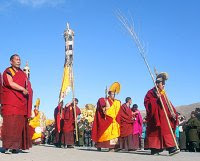 Monlam Chenmo Prayer Festival