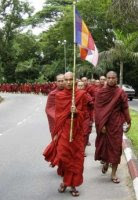 Defiant Burmese monks challenge the regime