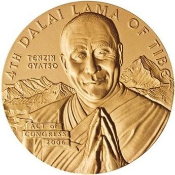 Dalai Lama Congressional Gold Medal