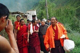 Lodi Gyari in Tibet