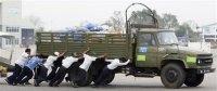 Junta aid delivery