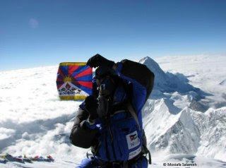 Tibet on Everest
