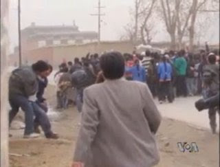 Labrang student protest