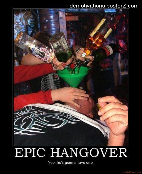 Epic Hangover