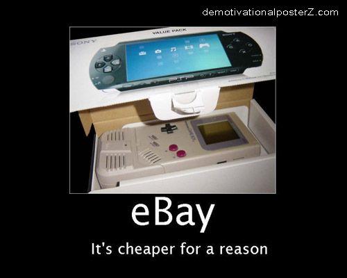 eBay - It's cheaper for a reason