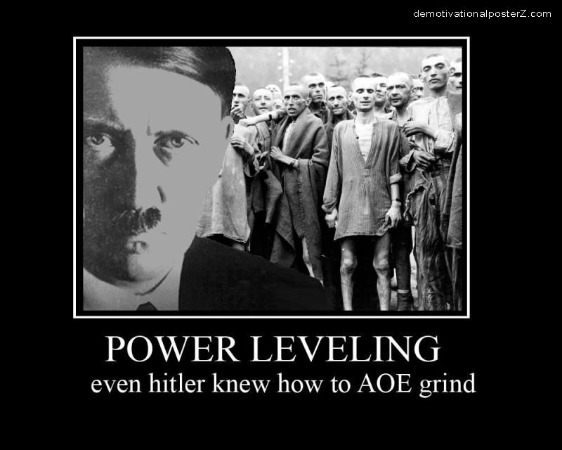 Power Leveling hitler