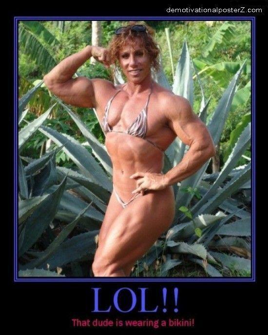 female bodybuilder fail