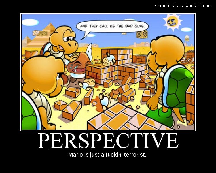 Perspective Super Mario