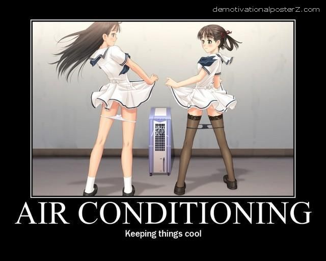 Air Conditioning motivational funny