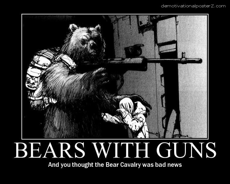 Bears With Guns