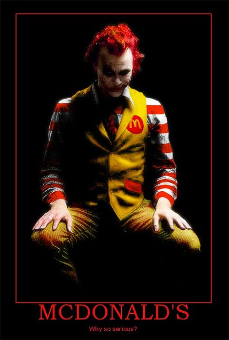 McDonald's - why so serious?