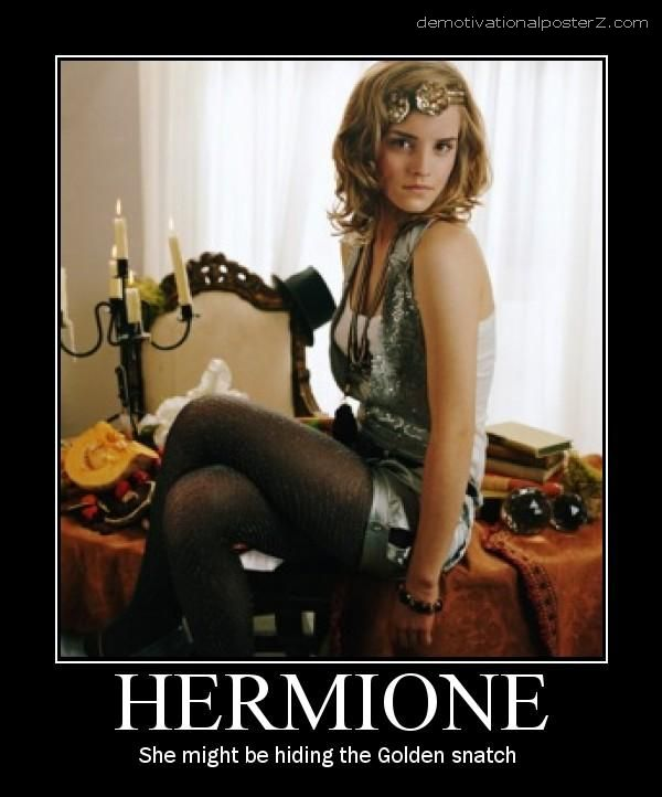 Hermione motivational poster