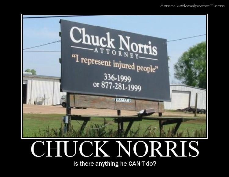 Chuck Norris Attorney