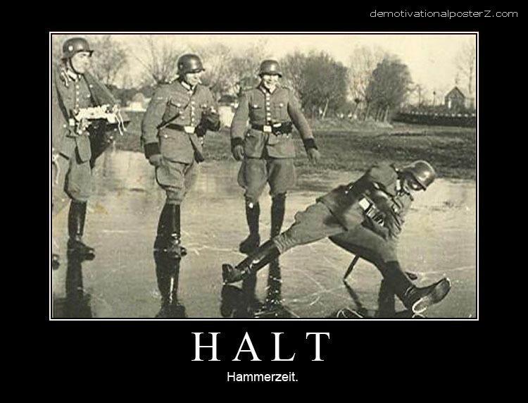 Halt - hammerzeit