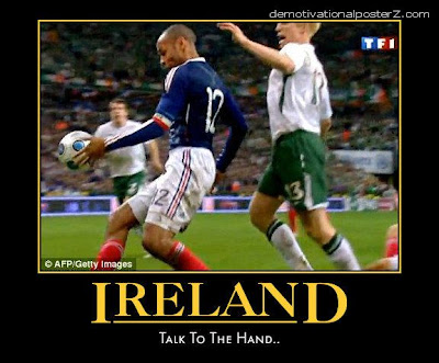 Ireland - talk to the hand - Henry motivational
