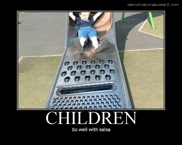 Children - go well with salsa