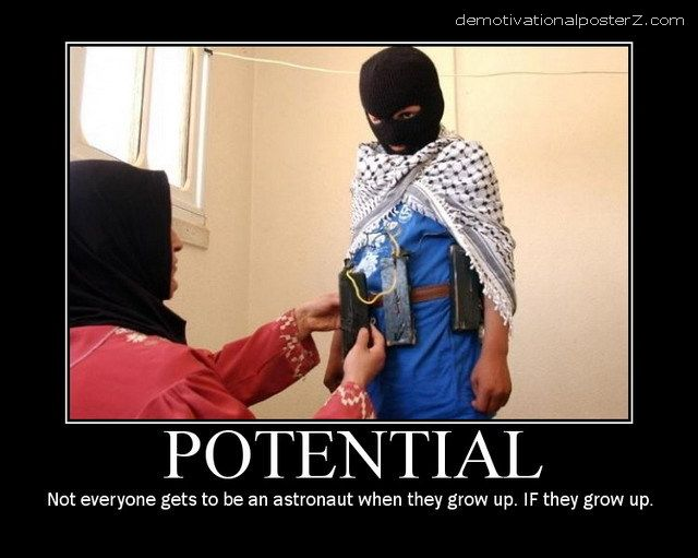Potential terrorist motivational