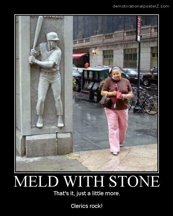 meld with stone motivational poster