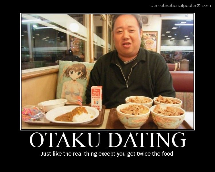 otaku dating motivational