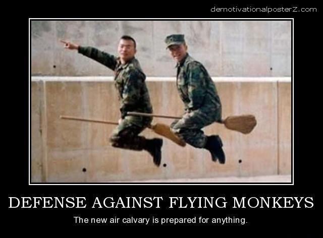 defense against flying monkeys air cavalry