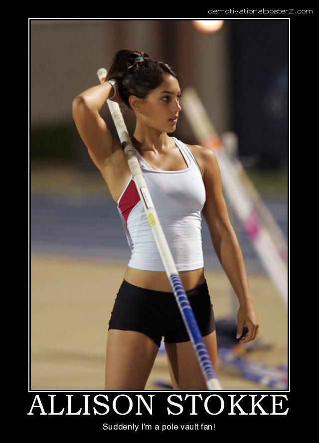 allison stokke motivational poster