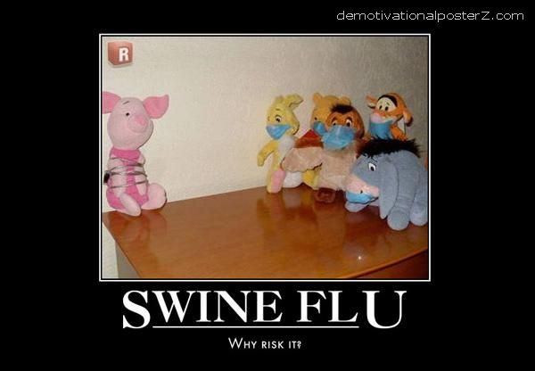 swine flu winnie the pooh