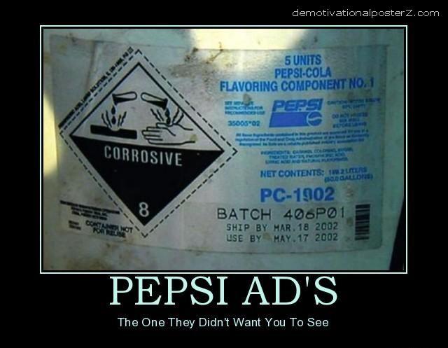 pepsi corrosive funny
