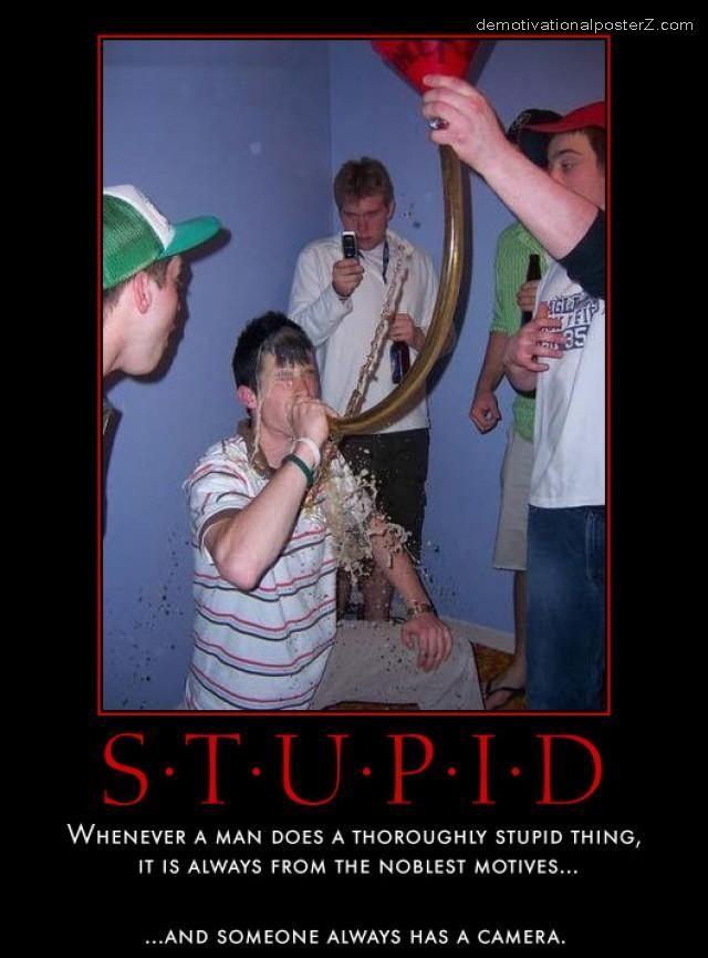 stupidity stupid