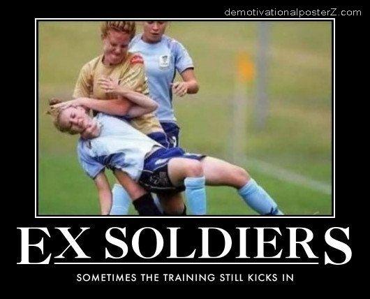 female soccer foul