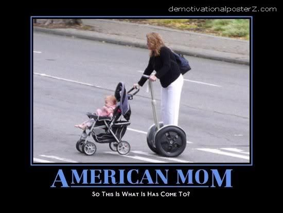 american mom on segway