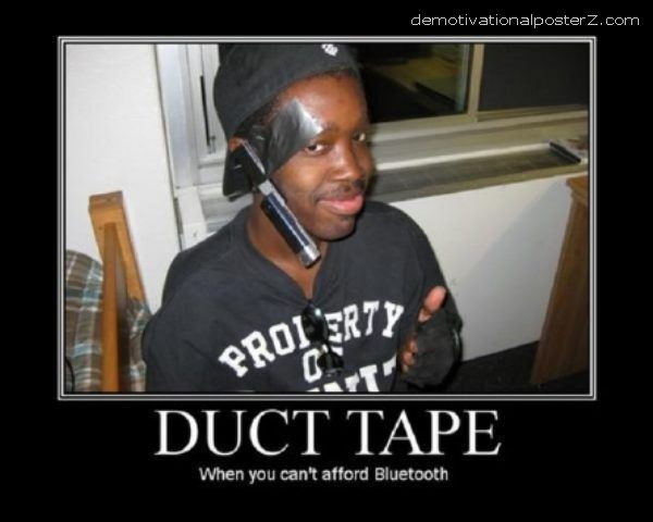 duct tape bluetooth
