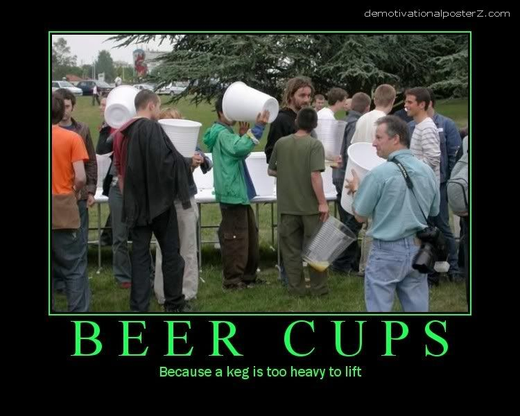 beer cups huge