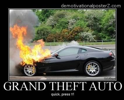 grand theft auto gta demotivator