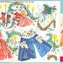 Девочки-Снегурочки, свечи и карнавальные наряды