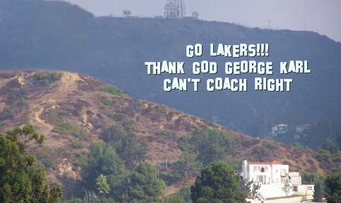 LAKERS SIGN IN HOLLYWOOD