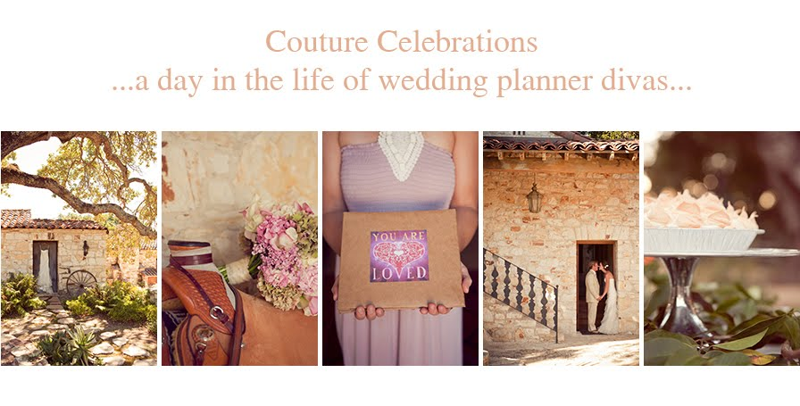Couture Celebrations,  A day in the life of wedding planner divas.