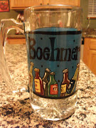 Hand Painted Personalized Beer Mug