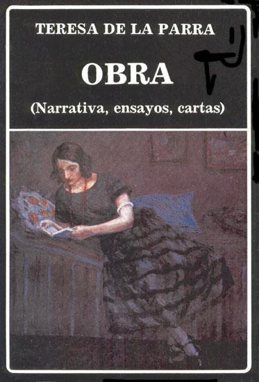 TERESA DE LA PARRA SUS OBRAS