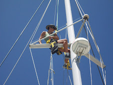 Endless boat chores send you from the bottom of the keel to the top of the mast....