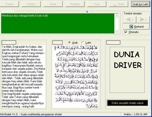 Untuk bacaan doanya sendiri tersedia dalam bahasa arab dan latin, jadi ...