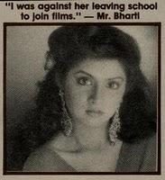 Divya Bharti Portal The Official Website Of Divya Bharti Memories