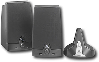 Wireless Stereo Speakers with Auto Tuning 900MHz