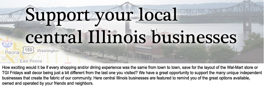 Support your local central Illinois businesses