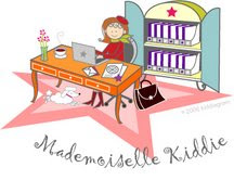Mlle Kiddie in her Star Bureau
