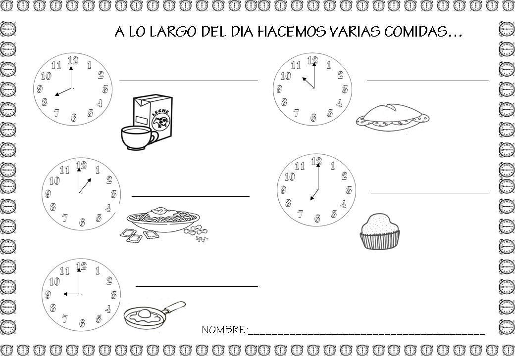 Piruleta colorines proyecto de los alimentos for Proyecto cocina infantil