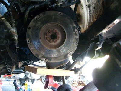 Old Clutch And Pressure Plate Replacements