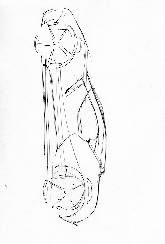 vertical car sketch title=