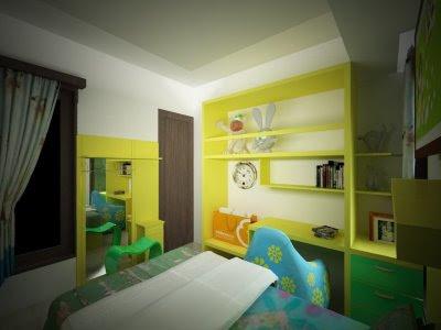 Interior bedroom child