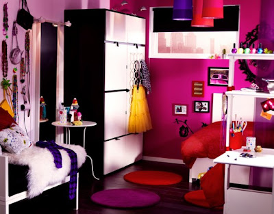 Children's room interior futuristic model